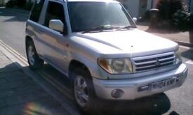 2004 Mitsubishi Shogun Pinin mpi equip px welcome