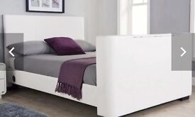 King Size TV bed and mattress.