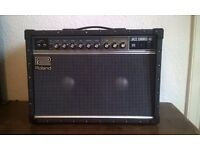 Roland Jazz Chorus 40 Guitar Amp + Boss FS 6 Dual Footswitch