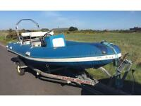 Rib 5.2 metre and outboard