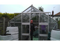 Harvester 12 x 8 Greenhouse already dismantled