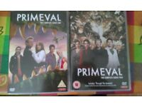 Primeval Seasons 1 & 2 DVD sets