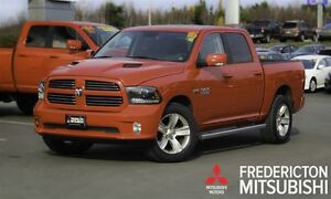 2015 Ram 1500 SPORT! CREW! LEATHER! SUNROOF! NAV!