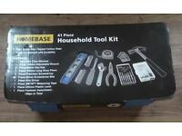 BRAND NEW 41 PIECE HOUSEHOLD TOOL KIT SET FOR £15 AND NO OFFERS LOOK!!