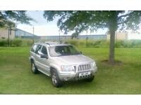 ## JEEP GRAND CHEROKEE LIMITED EDITION 2.7 DIESEL 4X4 # SWAP OR PX ##