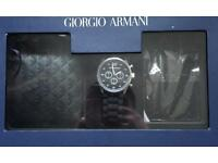 Brand New Armarni gift set, Watch, wallet and card Holder £35