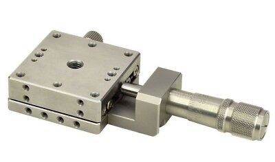 Optosigma Stainless Steel Stage 25x25mm Center Drive Metric T Tsdh-251c