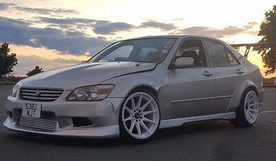 Lexus is200 is300 Altezza Rocket Bunny RB style wide arch set bolt on flares