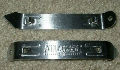 ALLAGASH BREWING Maine curieux white church key BOTTLE OPENER craft beer brewery
