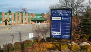 Collingwood Health Centre - Medical Suites Available For Lease