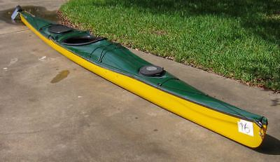 - Valley Sea Kayaks Rapier 18-Composite Fitness-racing sea kayak-Excellent cond