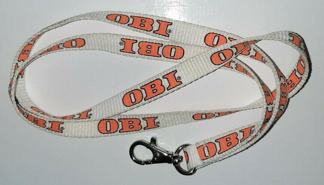 OBI Baumarkt Schlüsselband Lanyard NEU (M20)