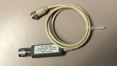 Wiltron 560-7n50 Rf Detector 10mhz- 18.5ghz