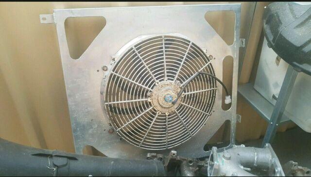 Aluminium fan shroud for a Nissan Patrol Tb48 | Other ...