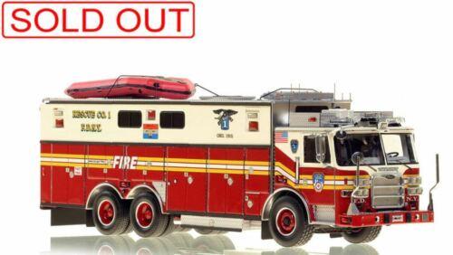 FDNY Pierce Arrow XT Rescue 1 1/50 Fire Replicas FR098 New Sold Out