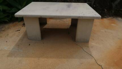 Outdoor Stone Table