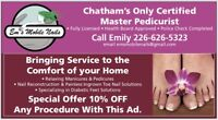 Foot care in the comfort of your home