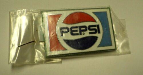 Vintage Pepsi Enamel Emblem Badge NOS Sealed In Package 1970