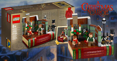 LEGO Holiday - Rare Exclusive - 40410 Charles Dickens A Christmas Carol - New