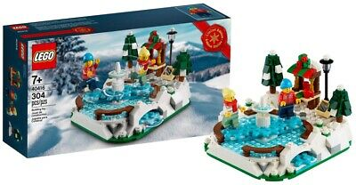 LEGO 40416 ICE SKATING RINK LIMITED EDITION CHRISTMAS 2020 PROMO SET BRAND NEW