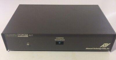 - Advanced Technology Video ATV Quadra Split 441 # QSP441 - NICE WORKING