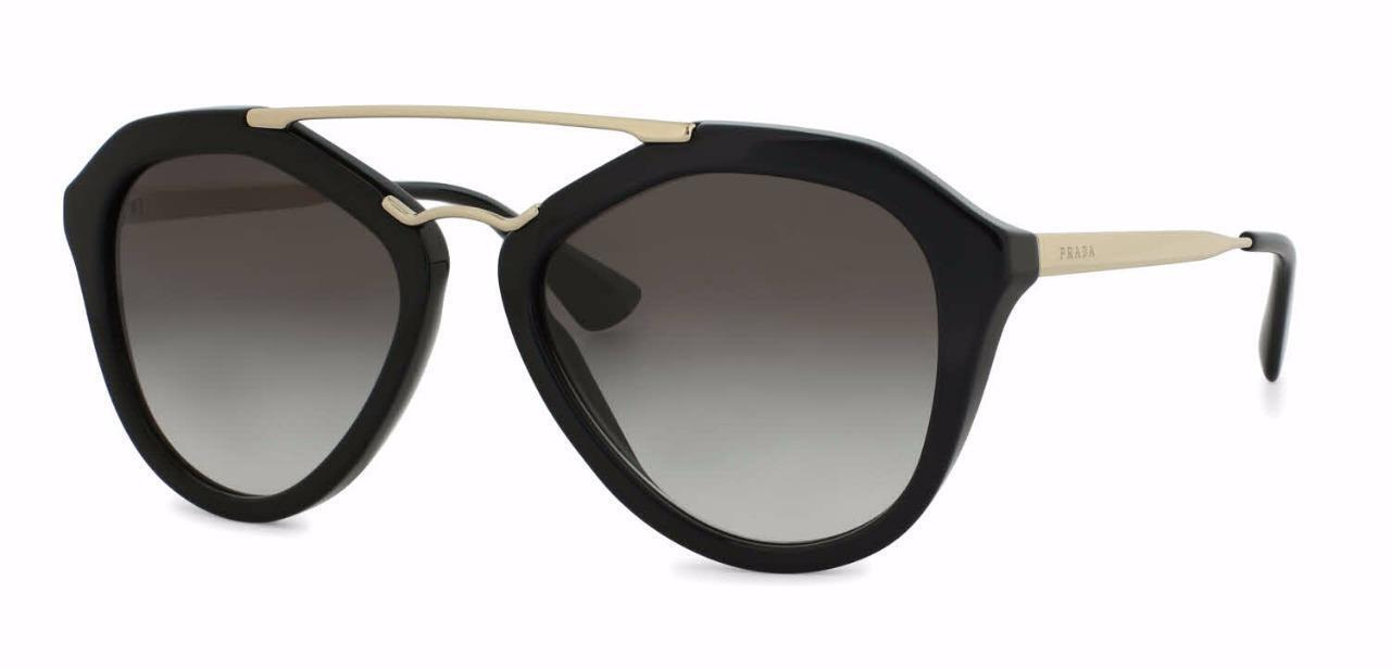 620170b84 Details about Prada Sunglasses - New & Authentic PRADA SPR PR 12QS 1AB-0A7  Black/Grey Gradient