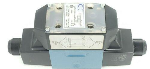 NEW CONTINENTAL HYDRAULICS VSD03M-2A-GB-60L-A SOLENOID VALVES 110/120VAC 50/60HZ