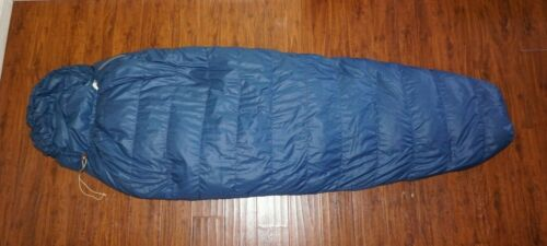 + VTG THE NORTH FACE Brown Label Goose Down Mummy Sleeping Bag 86x31 31oz EXC! +