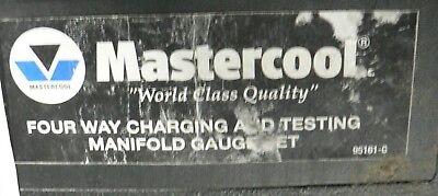 Mastercool 95161g 4-way Manifold Set 3 18 Gauges Lightly Used