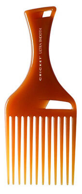 Cricket Ultra Smooth Hair Pick Comb infused with Argan Oil, Olive Oil and Kerati