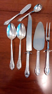 1847 Rogers Remembrance Silverware Set of 8