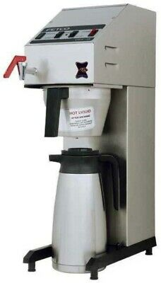 Fetco Millenia Cbs-2018 Airpot Commercial Coffee Brewer W Hot Water Faucet