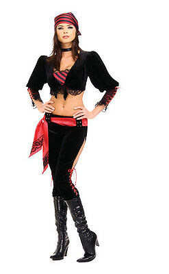 Captain's Mate Pirate Wench Girl Caribbean Dress Up Halloween Sexy Adult Costume - Pirate Mate Costume