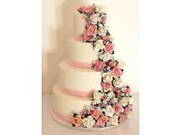 Stunning, Delicious Wedding cakes , customisable flavours and designs-DELIVERY PROVIDED
