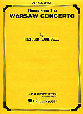 Warsaw Concerto theme Sheet Music Easy Piano Solo NEW Richard Addinsel 000302506
