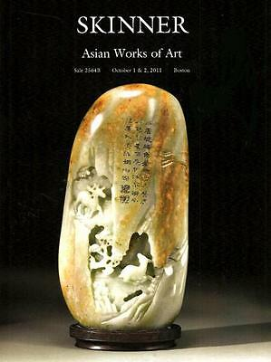 Skinner  / Asian Chinese Works of Art Post Auction Catalog October 2011