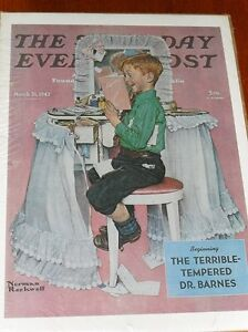 Saturday Evening Post - Rockwell Posters