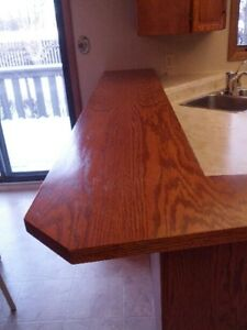 Laminate and Wood Countertops