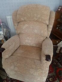 Save over £1000 on HSL recliner/riser chair only 6 months old like new condition.