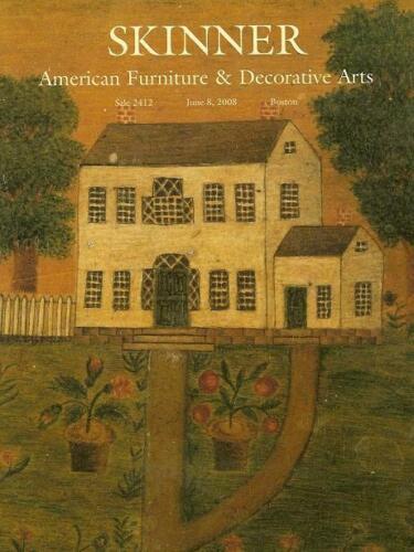 Skinner Americana Furniture Folk Decorative Art Chippendale Auction Catalog 2008