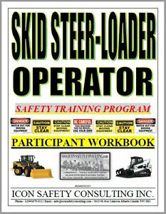 Skid Steer Operator Training - ICON SAFETY CONSULTING INC.