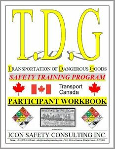 TDG Safety Training - ICON SAFETY CONSULTING INC.
