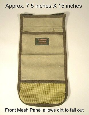 Minelab Whites Garrett Fisher Tesoro Metal Detector Deep Pocket Treasure Pouch