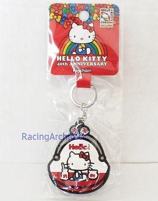 Hello Kitty Con 2014 Exclusive Plastic Keychain   Coin Purse 40Th Anniversary