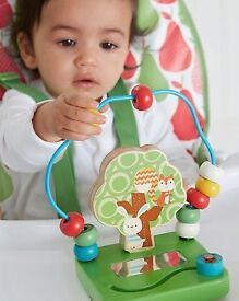 ELC Wooden Highchair Toy Great Condition Children Toys Kids Newborn