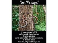 BIKES WANTED FOR KIDS SUMMER PROJECTS DO YOU HAVE OLD BIKES IN YOUR GARDEN GARAGE OR SHED RUSTING
