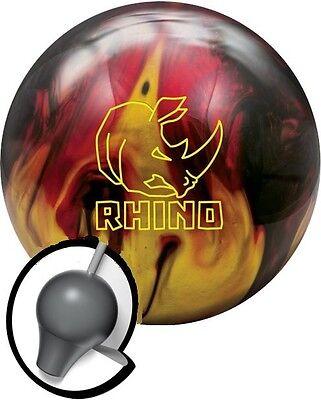 Brunswick Rhino 15 LB Red Black Gold Bowling Ball NIB 1st Quality