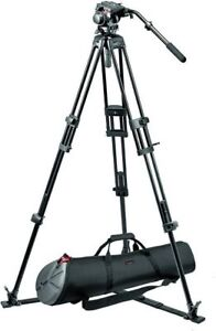 Manfrotto 519 Fluid Head and 525 Tripods Legs with bag
