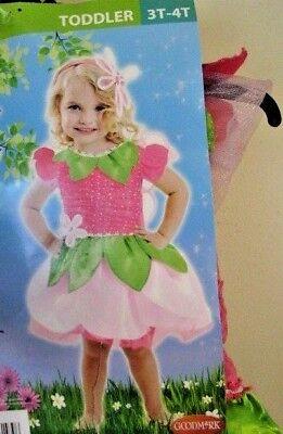 Daisy  Flower Fairy  Toddler  Girl / Child Halloween  Costume 3T - 4T