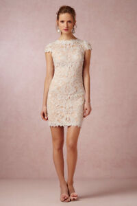 Gorgeous BHLDN 1920s Style Wedding Dress and Capulet For Sale